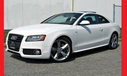 2011 Audi A5 S-LINE+PREM PLUS+6SPD+AUDI WARR