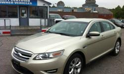 2011 Ford Taurus SEL TAP-SHIFT TECHNOLOGY, LEATHER, HEATED SEATS