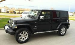 2011 Jeep Wrangler Unlimited 70th Anniversary 39K only