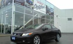 2012 Honda Civic SI Cpe w/ Nav Demo - $22995