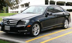 2012 Mercedes-Benz C300 4MATIC With premium package and sport package