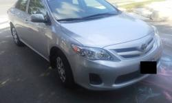 2012 Toyota Corolla CE Silver 32,000 km Lease Takeover