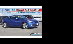 2010 Hyundai Genesis Coupe Blue