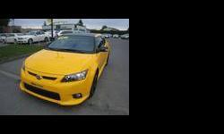 2012 Scion tC Yellow