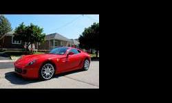 2009 Ferrari 599 GTB Fiorano Red
