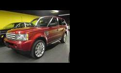 2006 Land Rover range rover sport Red