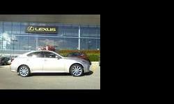 2009 Lexus IS Silver, 30K km
