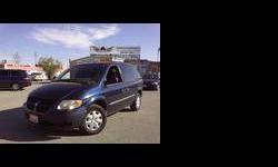2002 Dodge Caravan Blue