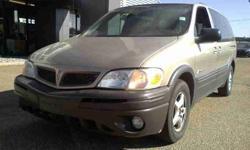 2003 Pontiac Montana Extended Minivan for sale.