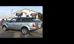 2007 Land Rover Range Rover Blue