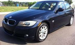 2010 BMW 3-Series Black