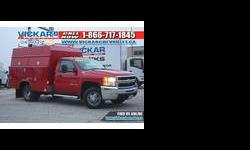 2008 Chevrolet 3500 Red