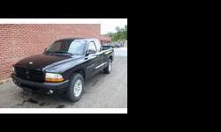 2001 Dodge Dakota Black