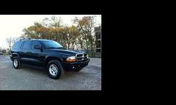 2003 Dodge Durango Black