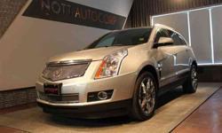 2010 Cadillac SRX Silver