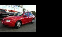 2000 Volkswagen Jetta Red