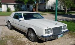 OBO 1984 Buick Riviera car