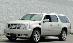 2008 Cadillac Escalade White