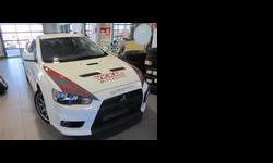 2012 Mitsubishi Lancer Evolution White