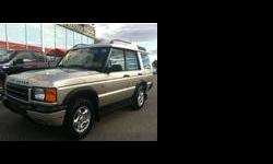 2000 Land Rover discovery series ii Tan