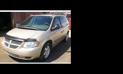 2005 Dodge Caravan Gold
