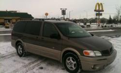 2003 Pontiac Montana Minivan-7 Passenger, LWB & Only 99,000km!