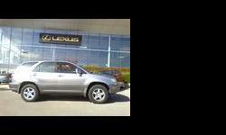 2003 Lexus RX Blue
