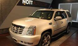 2010 Cadillac Escalade White