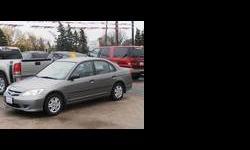 2005 Honda Civic Grey, 144K km