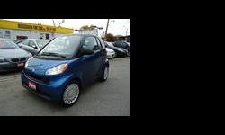 2009 Smart fortwo Blue