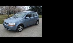 2007 Chevrolet Aveo 5 Blue