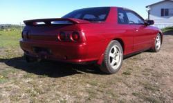 OBO 1993 Red Nissan Skyline GTST