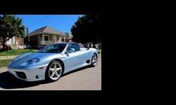 2003 Ferrari 360 Blue