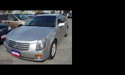 2005 Cadillac CTS Silver