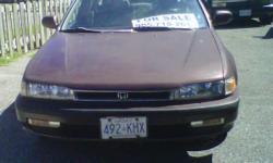 90 Honda Accord EX