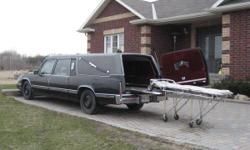93 Cadillac hearse