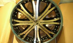 "Brand New 22"" Lowenhart Wheel For Mercedes or Bentley"