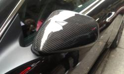 BRAND NEW MASERATI GranTurismo Coupe Real Carbon Side mirror cover