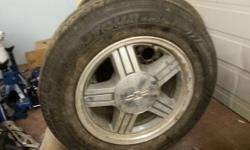 Chevrolet S10 tires & rims