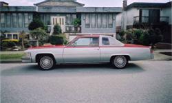 Classic 1977 Cadillac Coupe de Ville