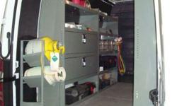Dodge / Mercedes Sprinter Interior Shelving, Partitions
