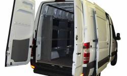 Dodge / Mercedes Sprinter Van Shelving, Safety Partitions