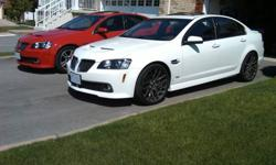 FS:  2009 Pontiac G8 GT 1SC Package White Hot