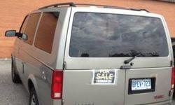 Grey 2003 GMC Safary Van