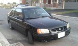Hyundai Aceent 2002 2 dr for sale