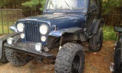 Jeep CJ-5 1980 off-road machine