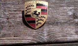 late 70s porsche hood emblem