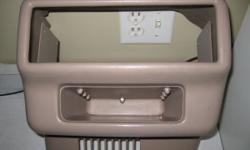 Mercury Villager Center Console Mount For Multi-CD Changer