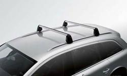 OEM Audi Q7 Roof RackCrossbar with OEM Audi Cargo box