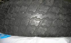 Pontiac Montana 2003 Four Signet Winter tires with Rims